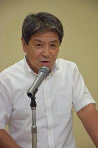 平井新部会長による就任あいさつ